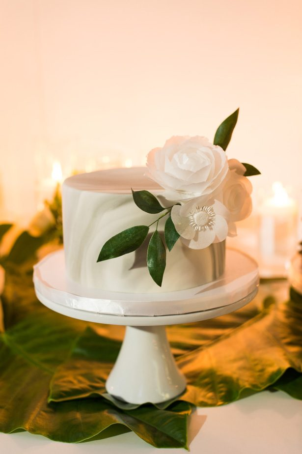 marble wedding cake - Studio EMP