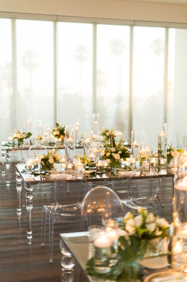 sophisticated Wedding acrylic tables and chairs - Studio EMP