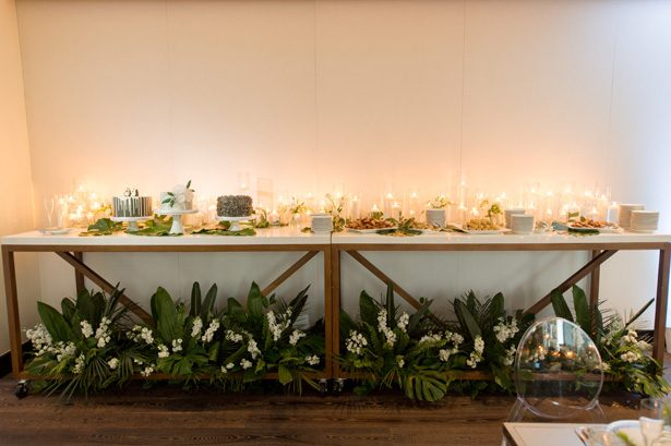 tropical wedding desert table - Studio EMP