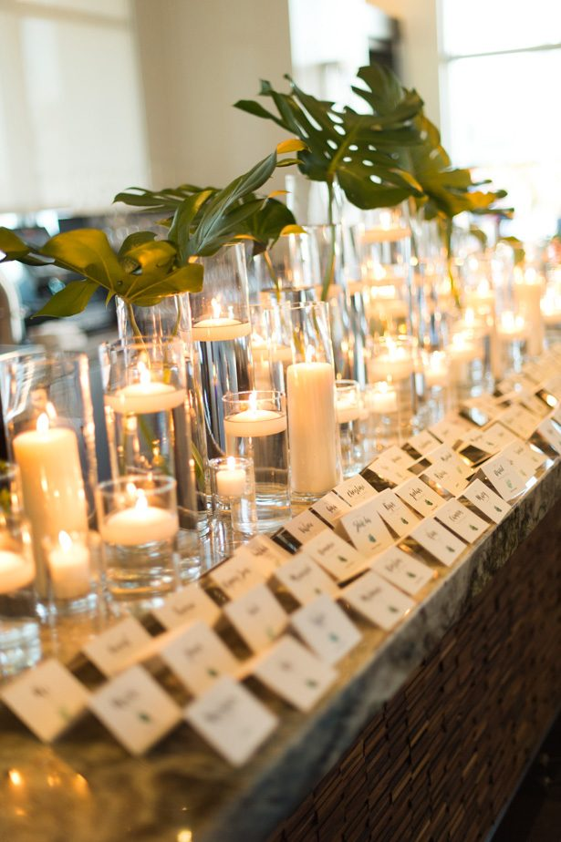 wedding candle decor - Studio EMP