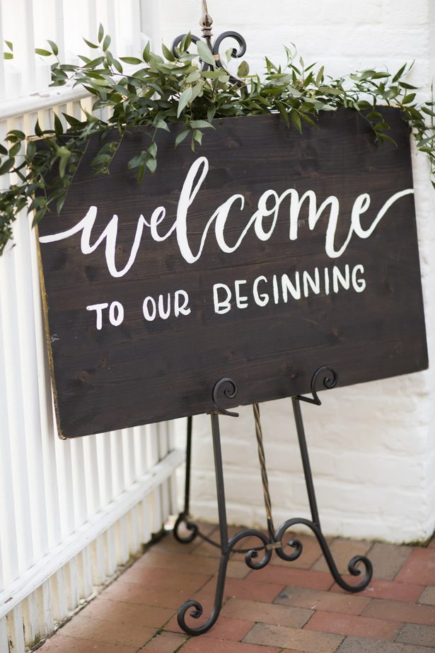 wedding wood sign - Aislinn Kate Photography