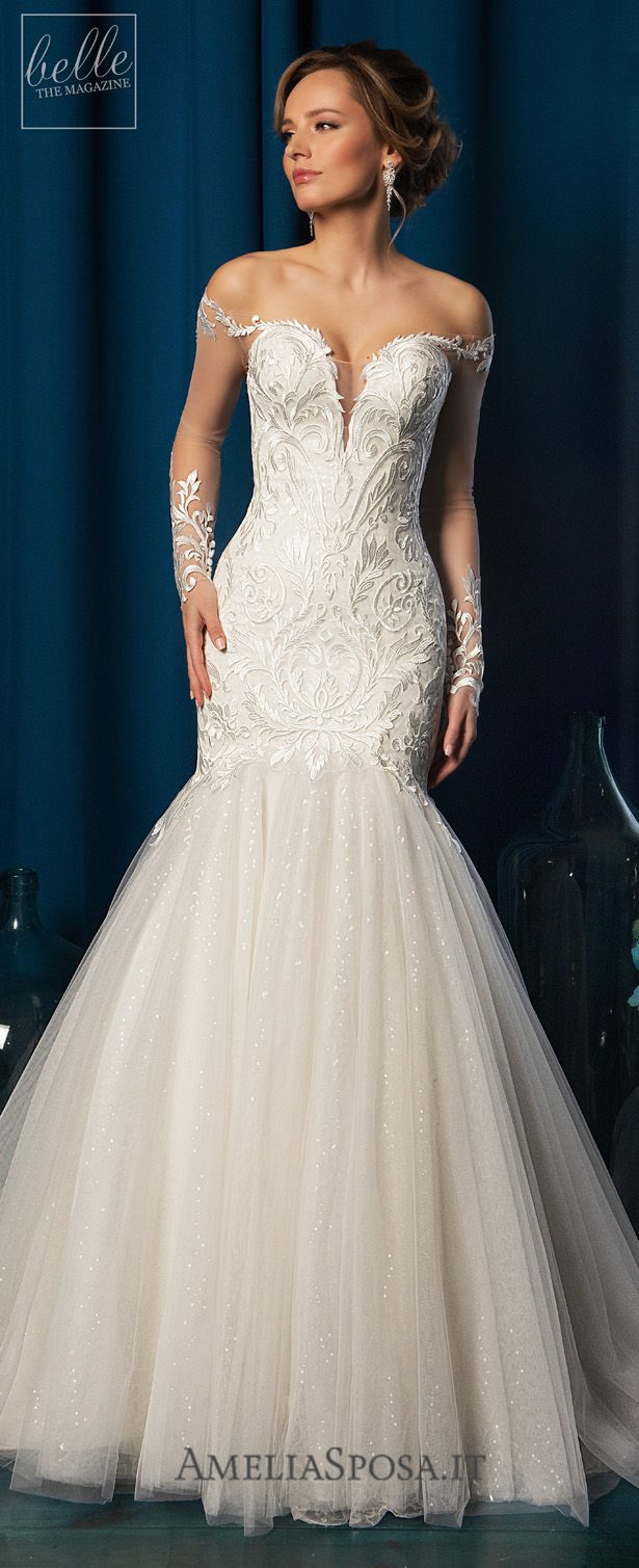 Amelia Sposa Wedding Dresses 2019 - Fabiola