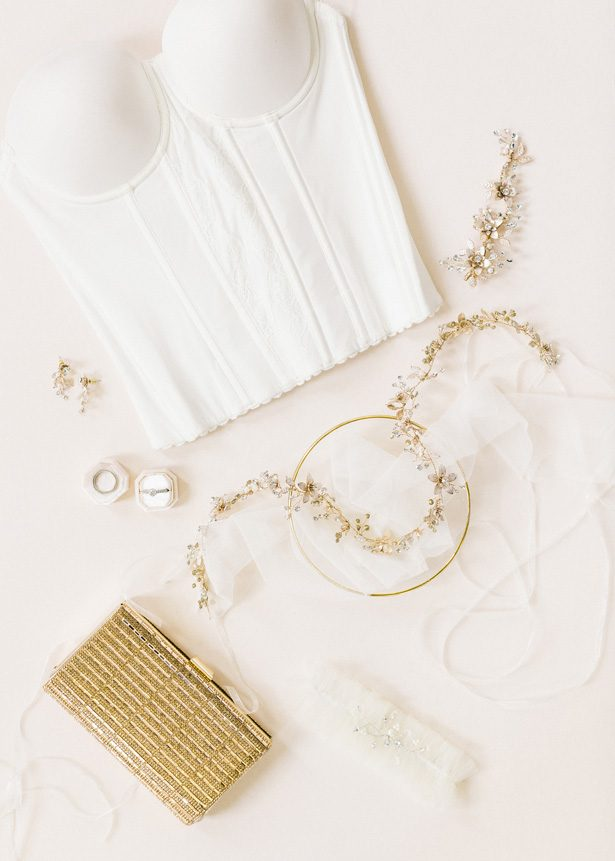 Bridal Accessories by David's Bridal - Photography: The Mallorys
