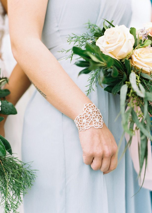 Bridesmaid bracelet - Photography: The Mallorys