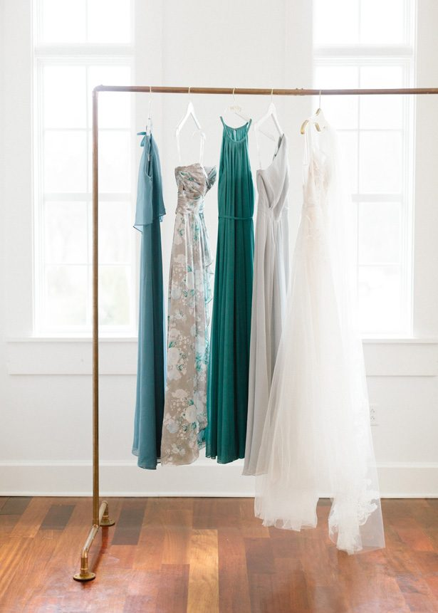 Bridesmaid dresses by David's Bridal - Photography: The Mallorys