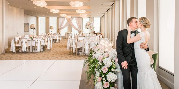 Classic Blush Wedding at The Houston Club - Nate Messarra Photography