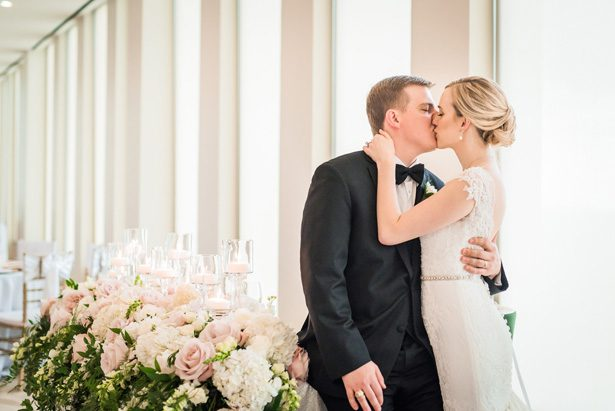Classic Blush Wedding at The Houston Club