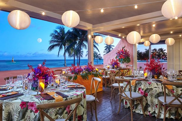 Hawaii Destination Wedding and Honeymoon -Royal Hawaiian, a Luxury Collection Resort