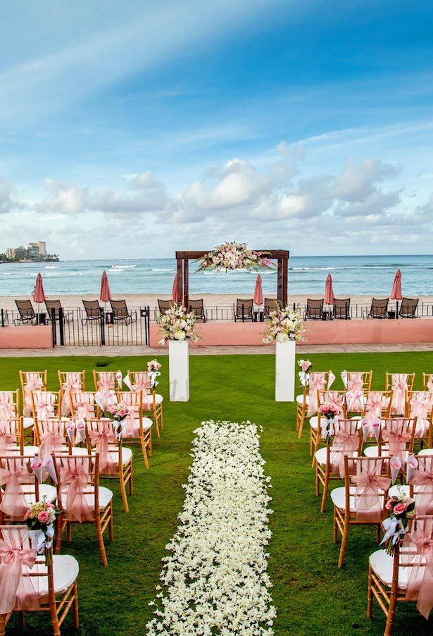 Hawaii Destination Wedding - Royal Hawaiian
