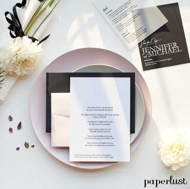 Wedding Invitations by Paperlust - modern