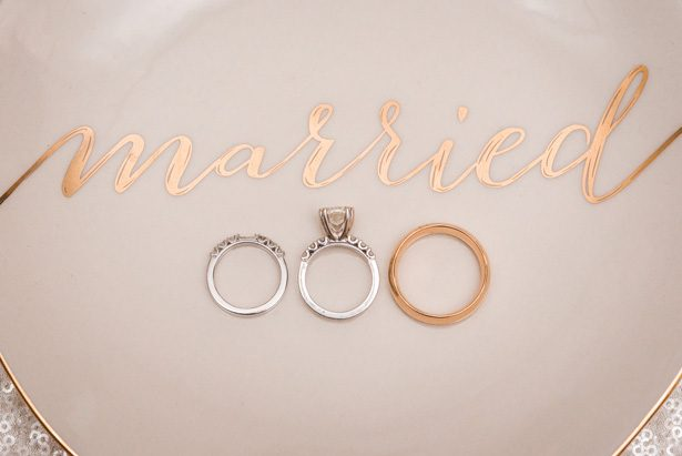 Wedding rings -Classic Blush Wedding at The Houston Club - Nate Messarra Photography