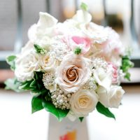 garden rose wedding flowers - Sarah Nichole Photography