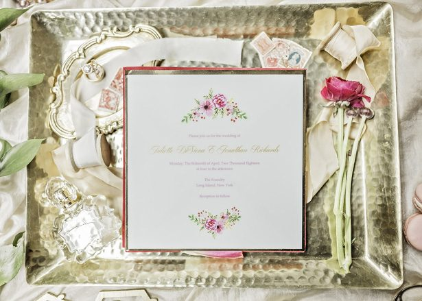 sophisticated wedding invitation - Sarah Casile Weddings