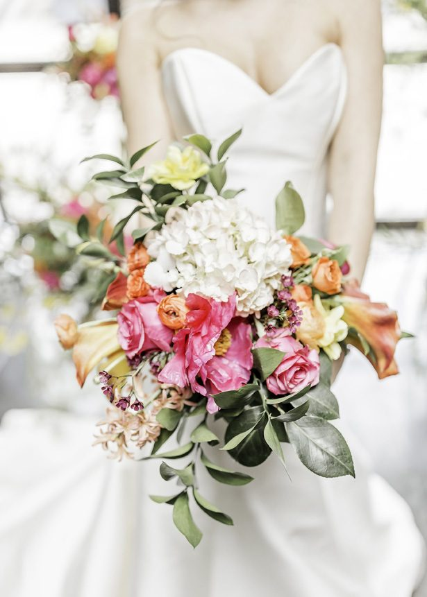 spring wedding bouquet - Sarah Casile Weddings