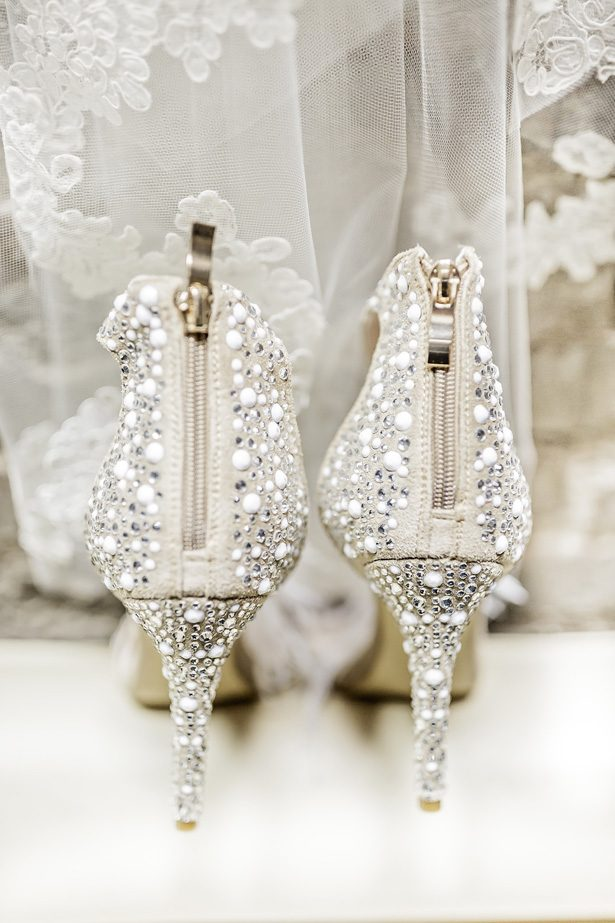 wedding heels - Sarah Casile Weddings
