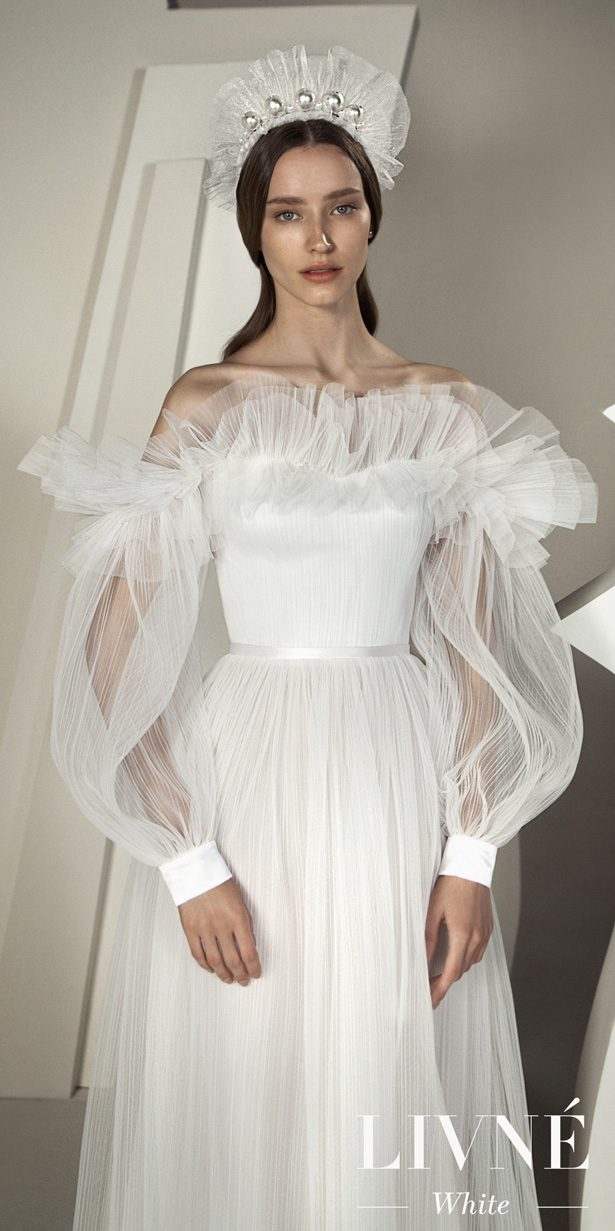 Alon Livene White Wedding Dresses Spring 2020 - Reverie Collection