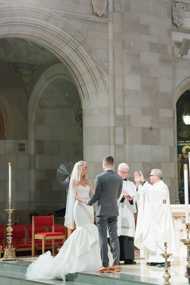 Church Wedding Ceremony - Amanda Collins Photography