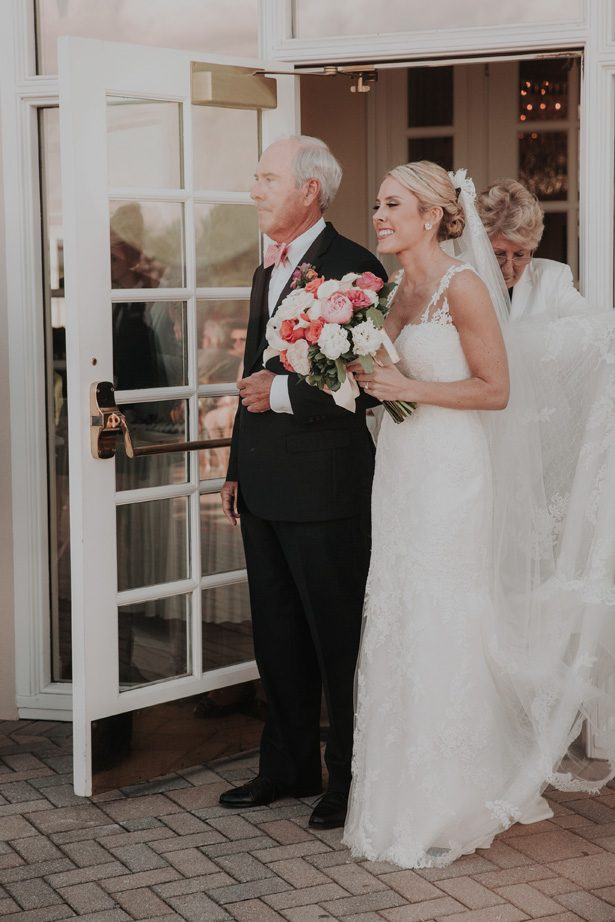 Father of the bride walk - Kelli Wilke Photography