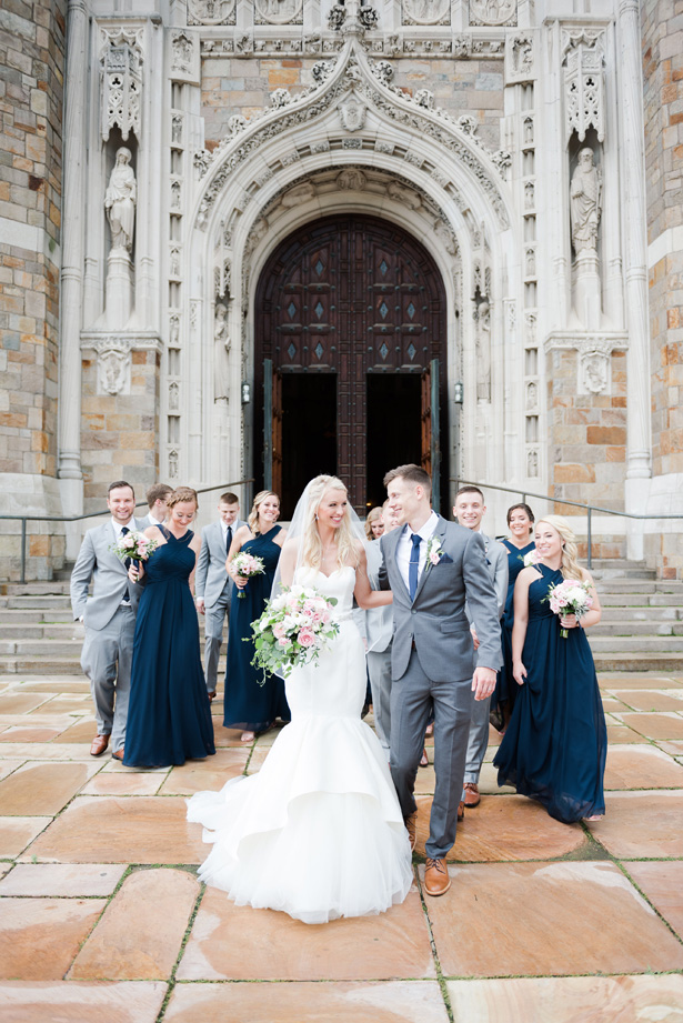 Luxe Wedding Party - Amanda Collins Photography