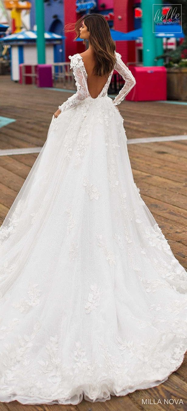 Milla Nova Wedding Dresses 2019 - California Dream Collection - Bevin 4