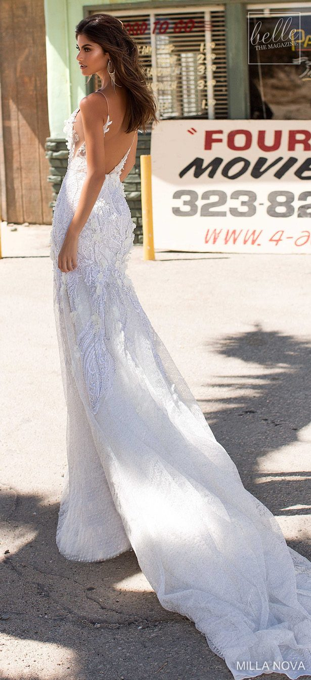 Milla Nova Wedding Dresses 2019 - California Dream Collection - Crystal 72-min