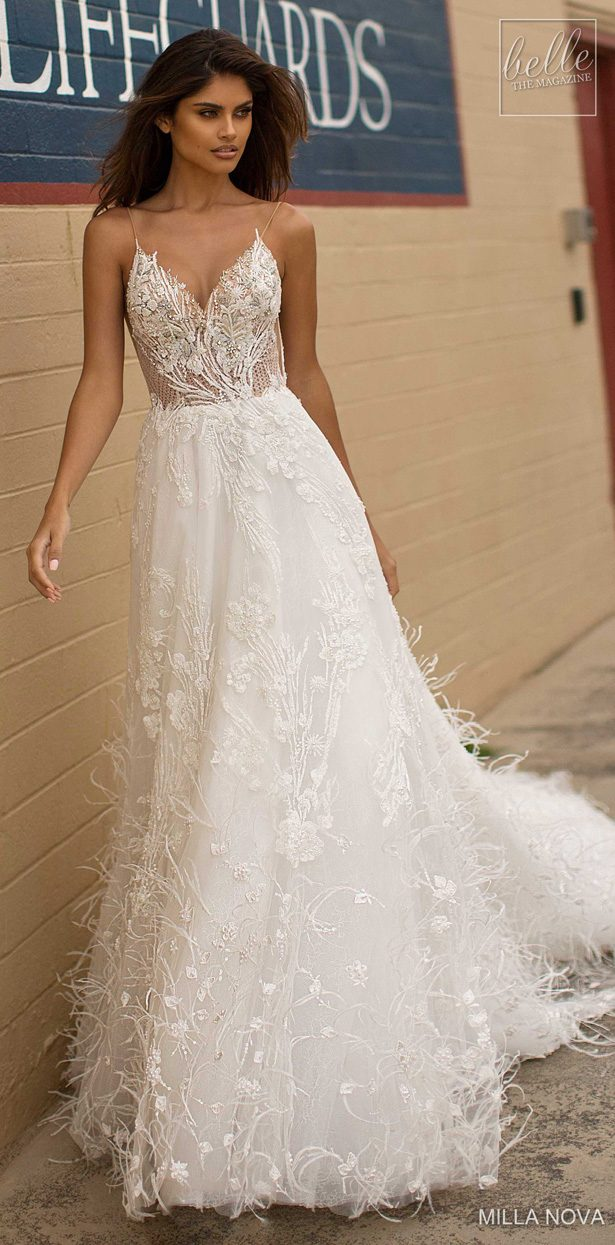 Milla Nova Wedding Dresses 2019 - California Dream Collection - Everly156