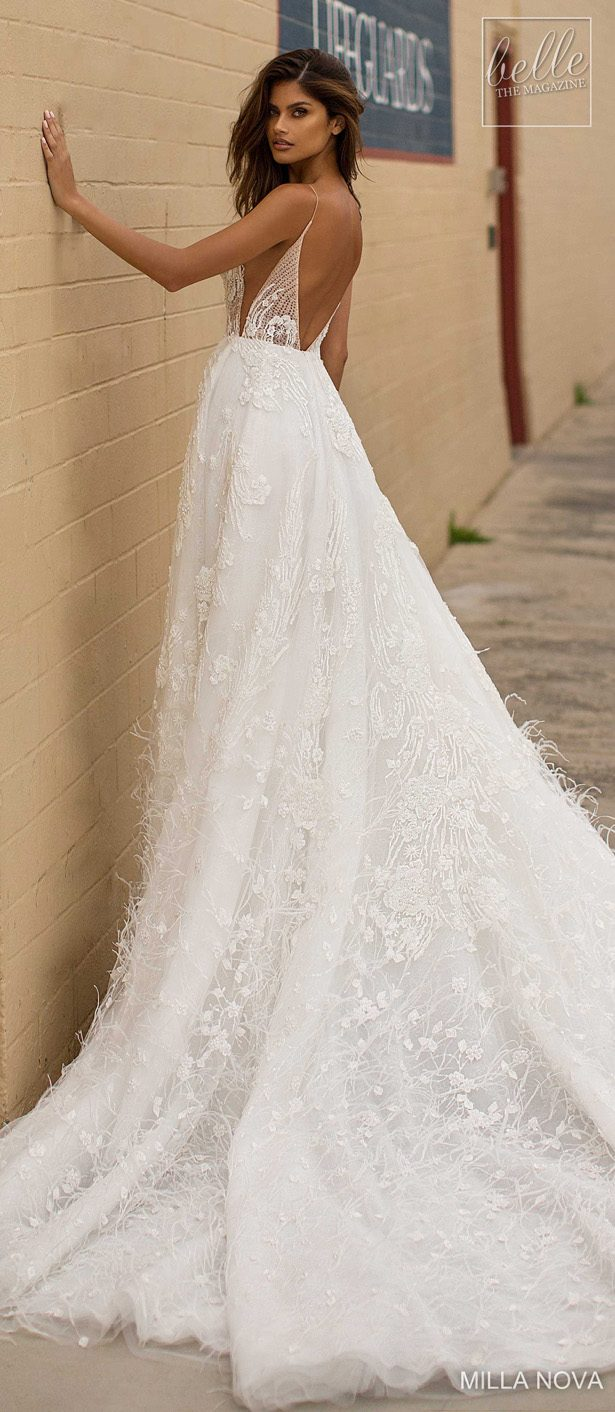 Milla Nova Wedding Dresses 2019 - California Dream Collection - Everly157