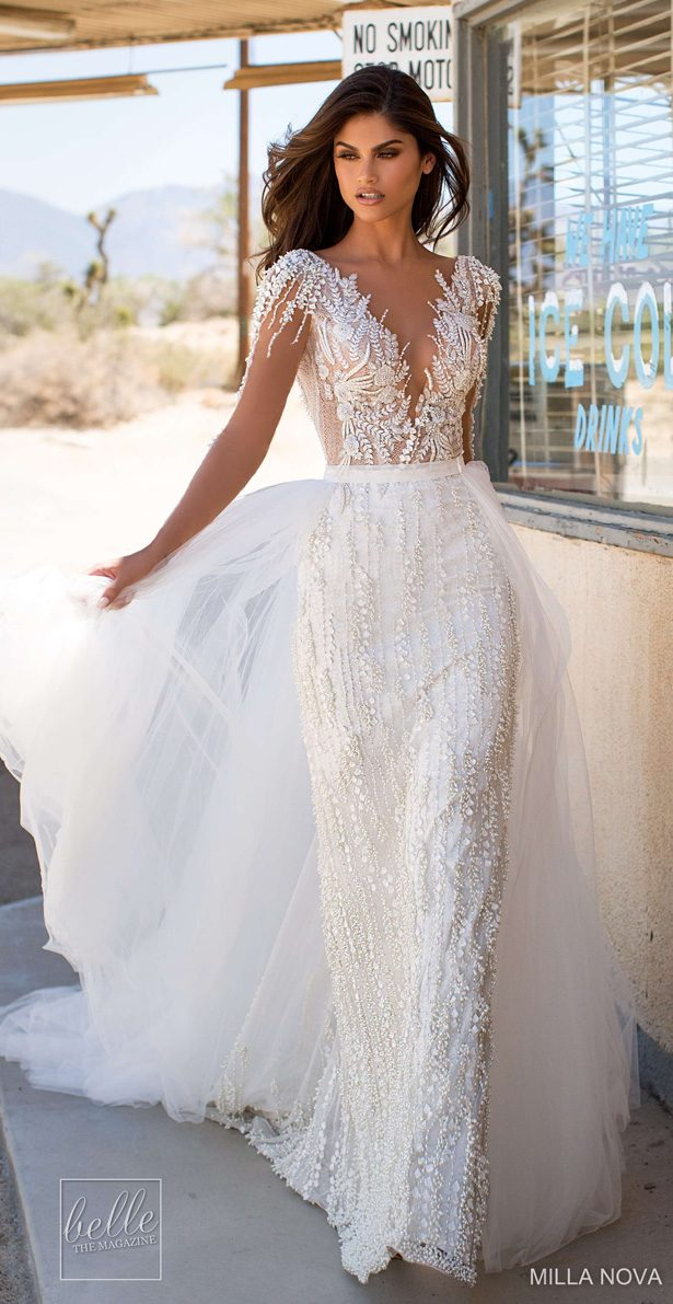Milla Nova Wedding Dresses 2019 - California Dream Collection - Fiona 57-min