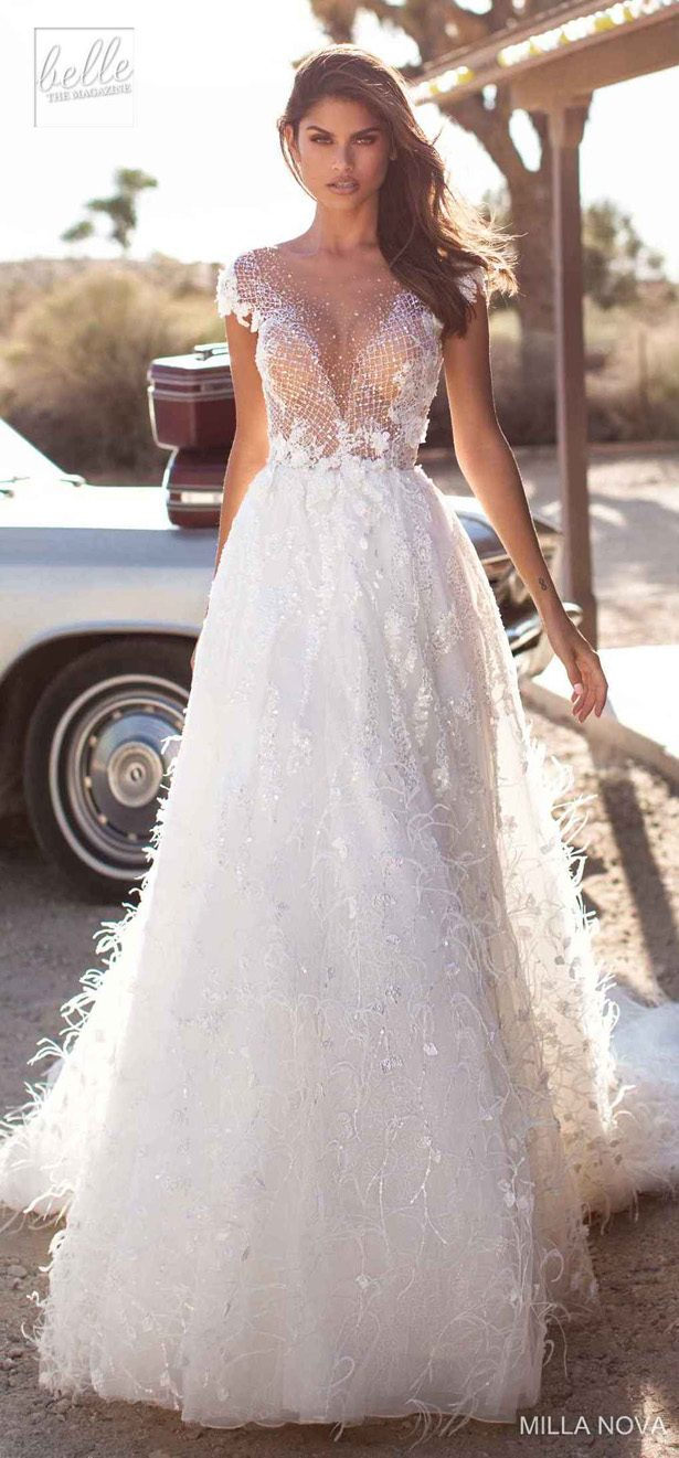 Milla Nova Wedding Dresses 2019 - California Dream Collection - Janis 1