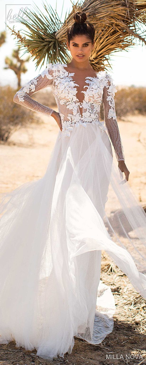 Milla Nova Wedding Dresses 2019 - California Dream Collection - Mirren 180