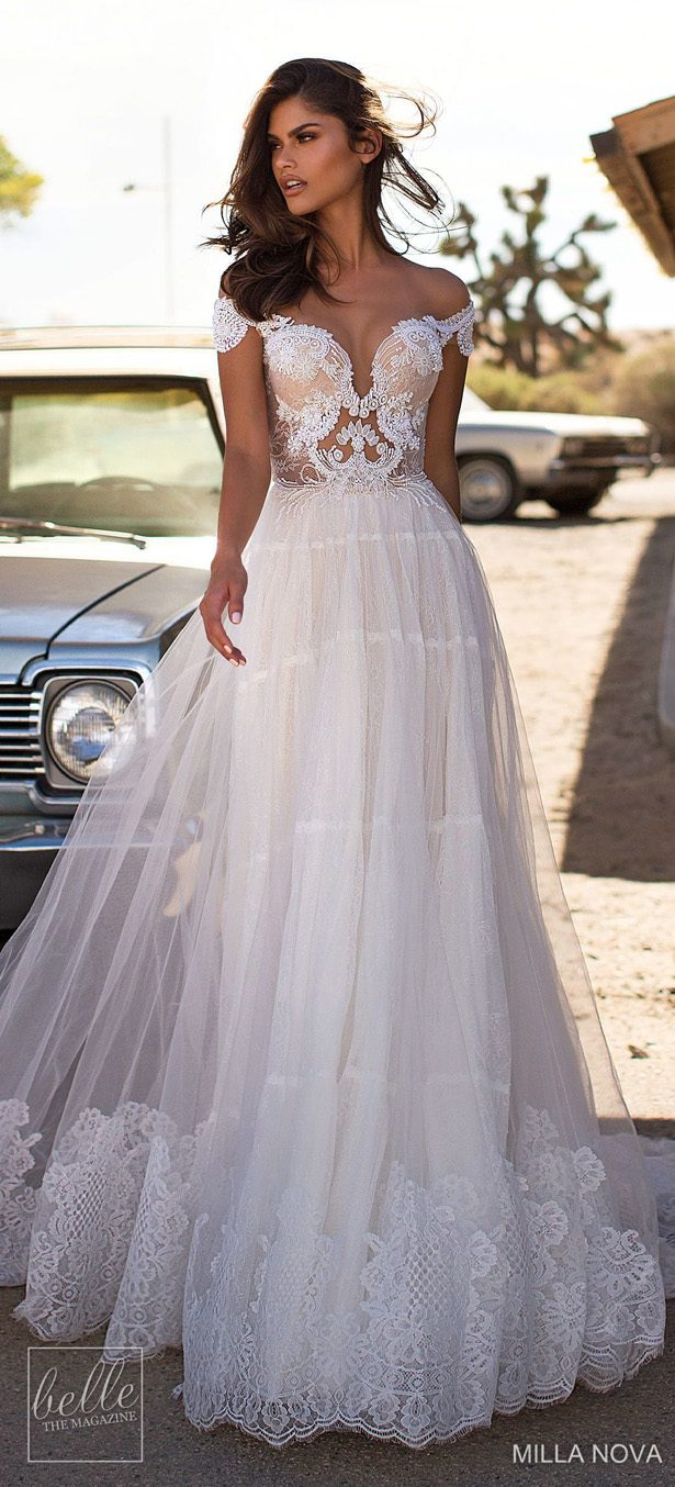 Milla Nova Wedding Dresses 2019 - California Dream Collection - Monica 2