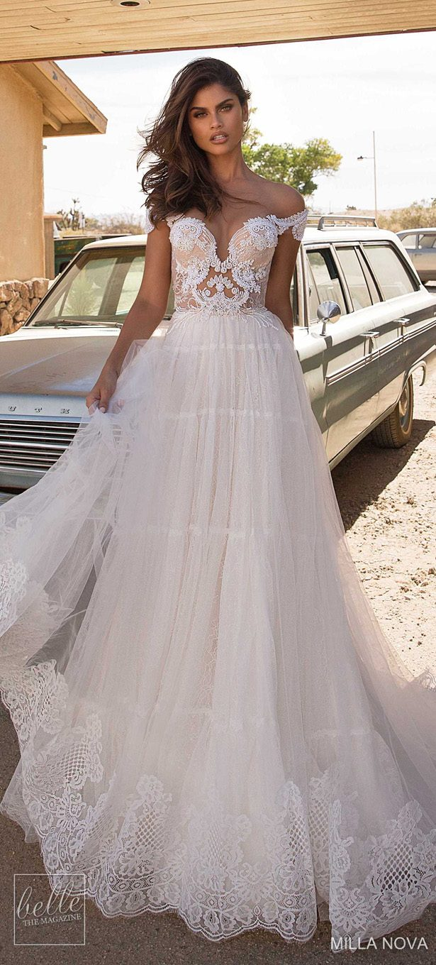 Milla Nova Wedding Dresses 2019 - California Dream Collection - Monica 87