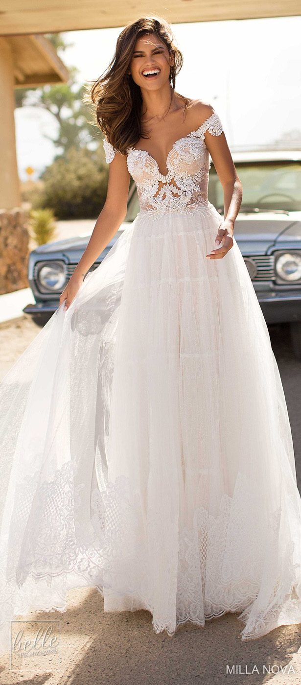 Milla Nova Wedding Dresses 2019 - California Dream Collection - Monica 88
