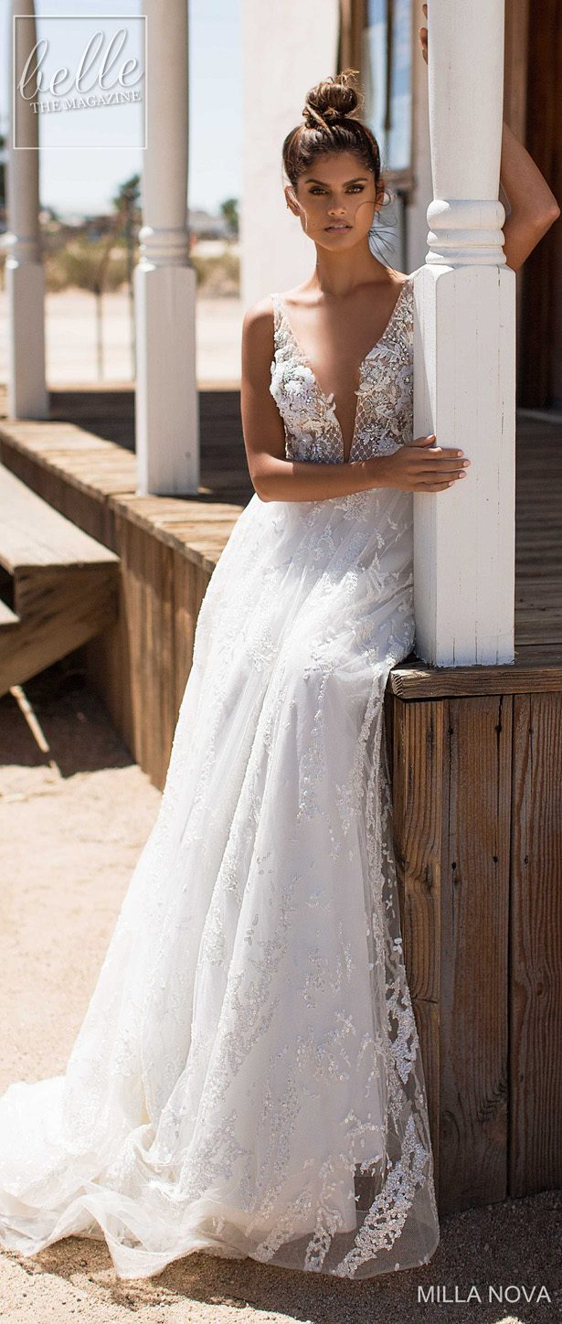 Milla Nova Wedding Dresses 2019 - California Dream Collection - Sandy 170