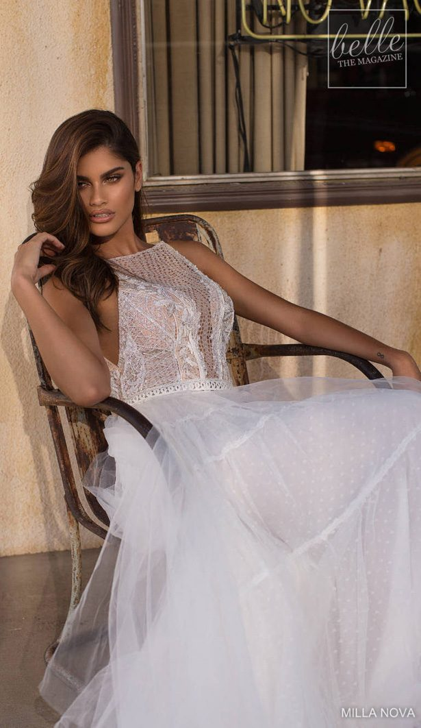 Milla Nova Wedding Dresses 2019 - California Dream Collection - Scarlett 1