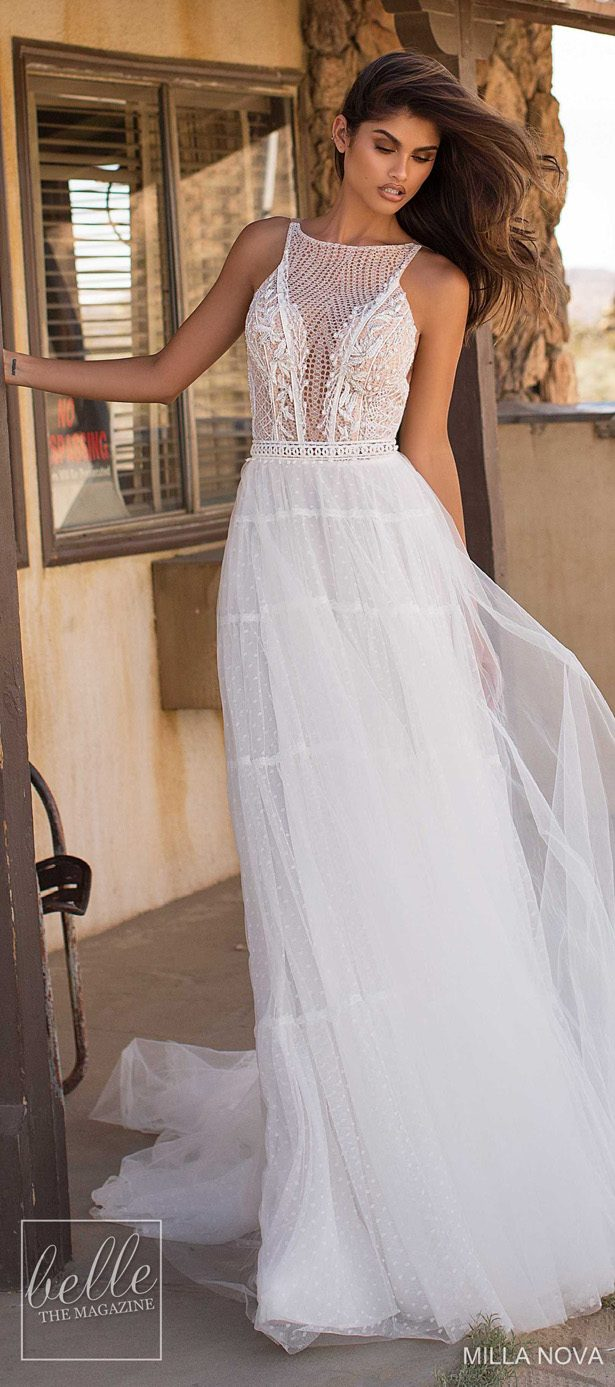 Milla Nova Wedding Dresses 2019 - California Dream Collection - Scarlett 94