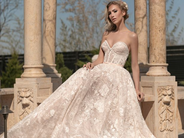 Naama and Anat Wedding Dresses 2020 - The Royal Blossom Collection - Cover