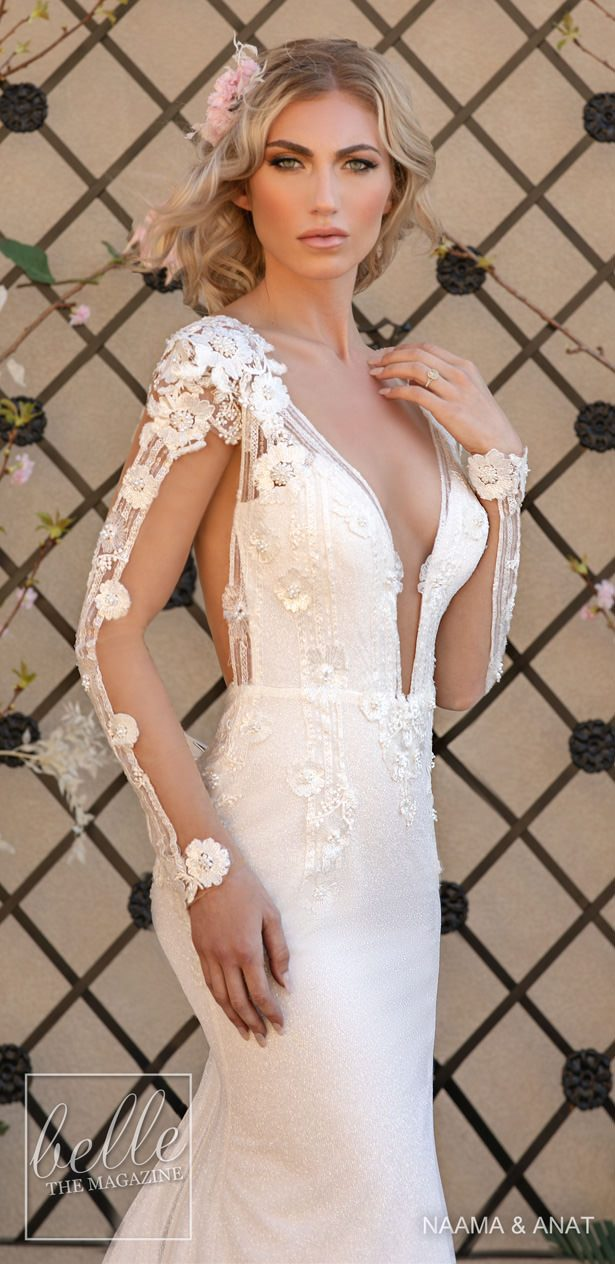 Naama and Anat Wedding Dresses 2020 - The Royal Blossom Collection - MAGNOLIA M
