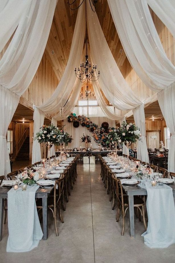 Rustic Chic Wedding Reception Decor - Photography by Wild Native Co.
