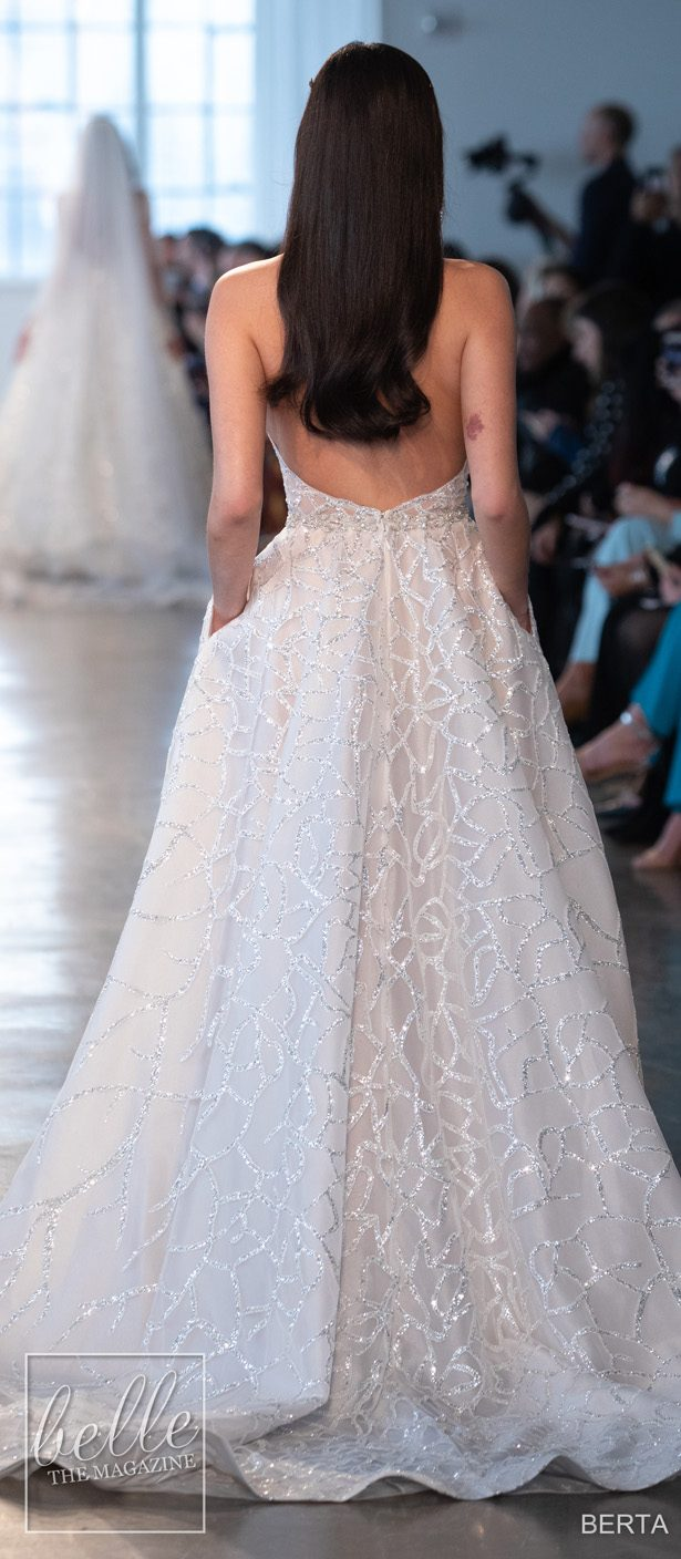 Wedding Dresses by BERTA Bridal Couture Collection Spring 2020
