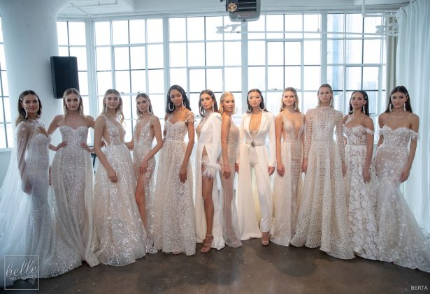 NYBFW: Wedding Dresses by BERTA Bridal Couture Collection Spring 2020