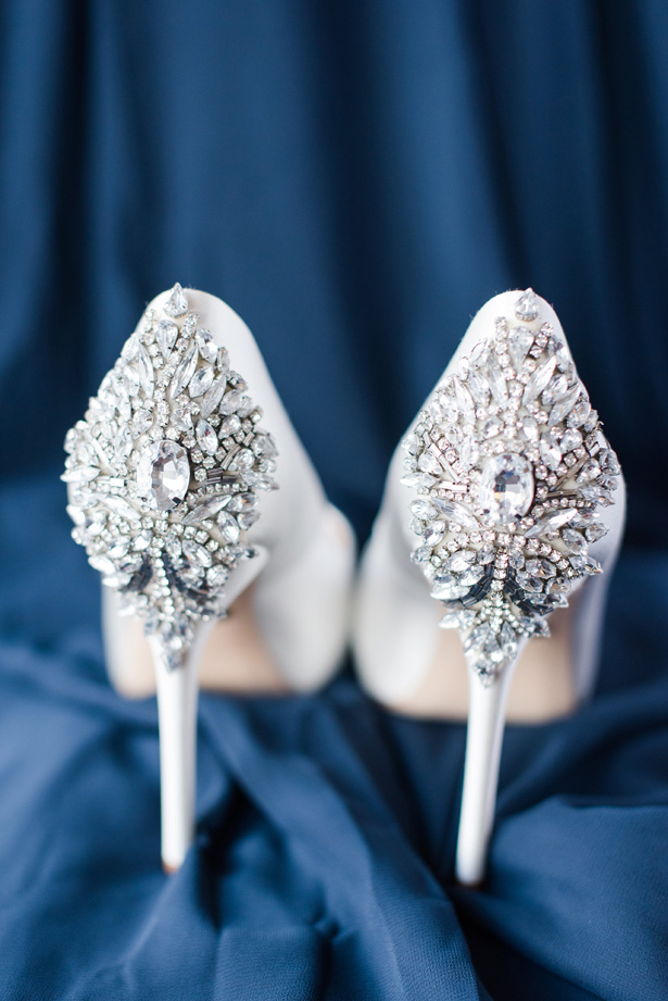 wedding shoes - Amanda Collins Photography