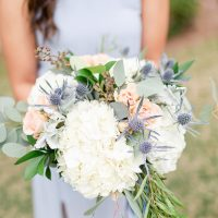 bridesmaid bouquet - Luke & Ashley Photography