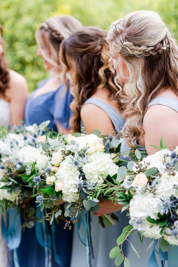 bridesmaid bouquets - Luke & Ashley Photography