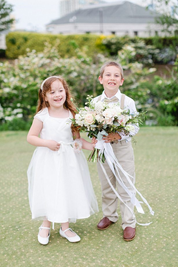 flower girl and ringbearer - Luke & Ashley Photography