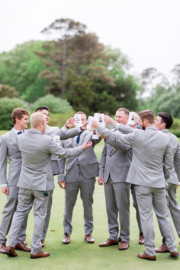 groomsmen custom mugs - Luke & Ashley Photography