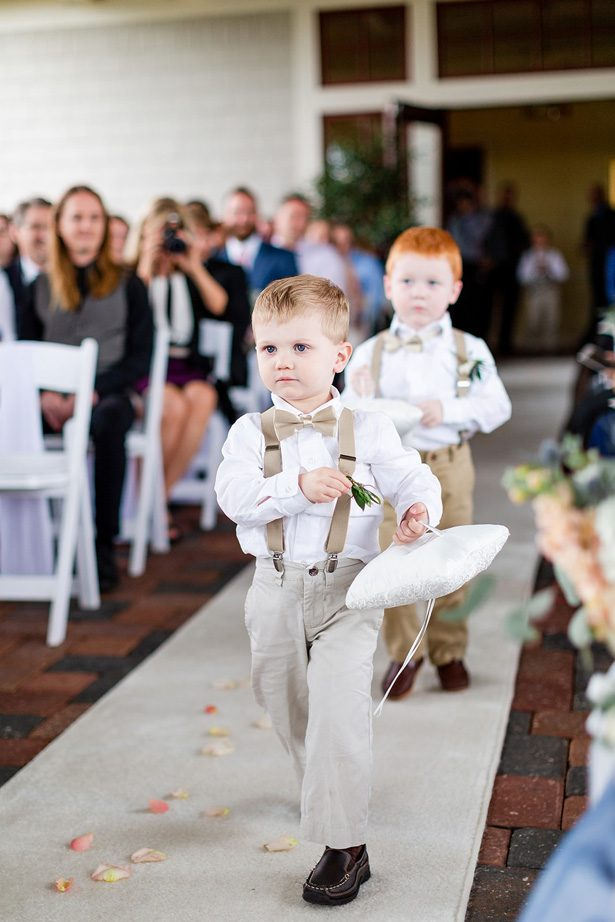 ring bearer pillow - Luke & Ashley Photography