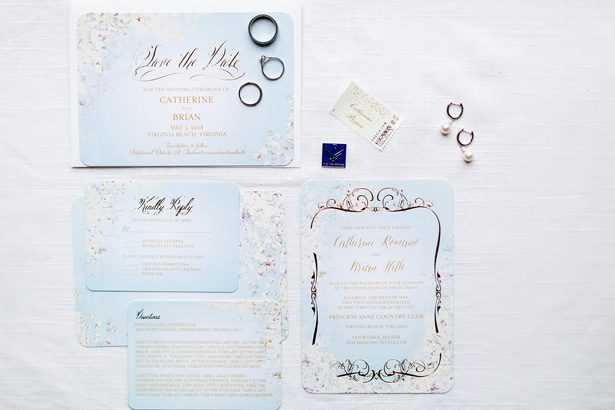 wedding invitation - Luke & Ashley Photography