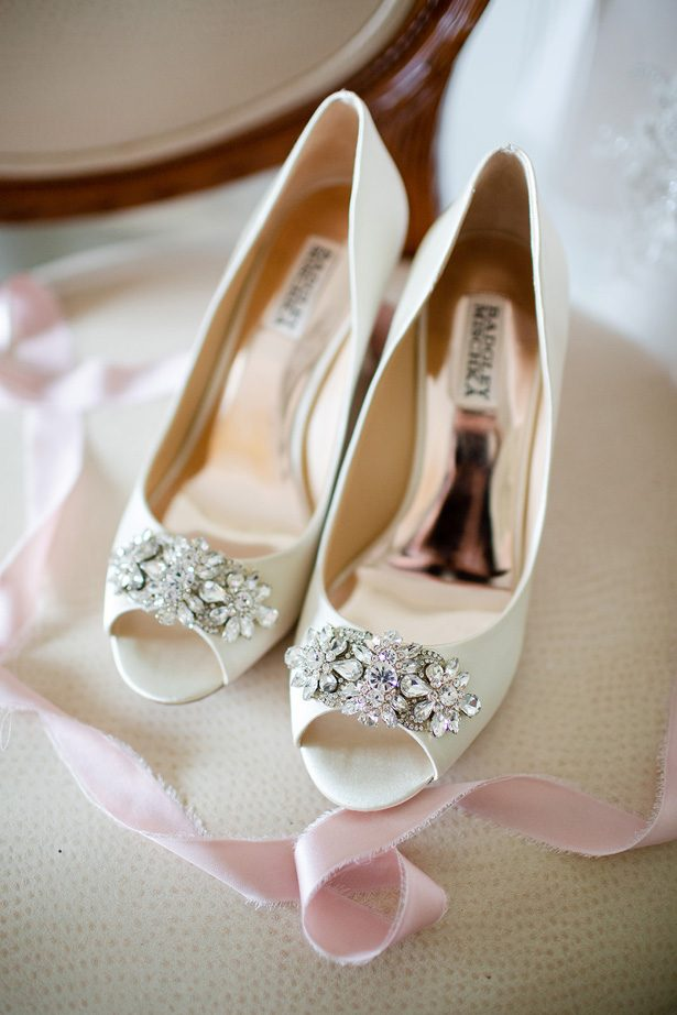 wedding shoes - Luke & Ashley Photography