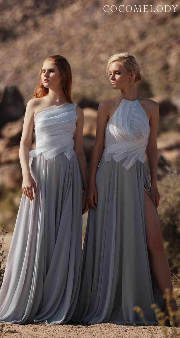 Arquitectural Bridesmaid Dresses Trends by Cocomelody 2020